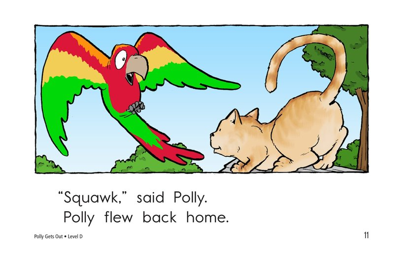 Book Preview For Polly Gets Out Page 11