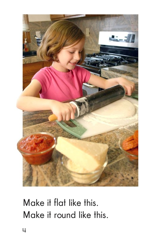 Book Preview For Making Pizza Page 4