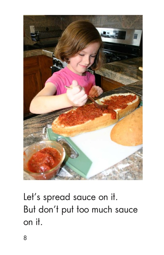 Book Preview For Making Pizza Page 8