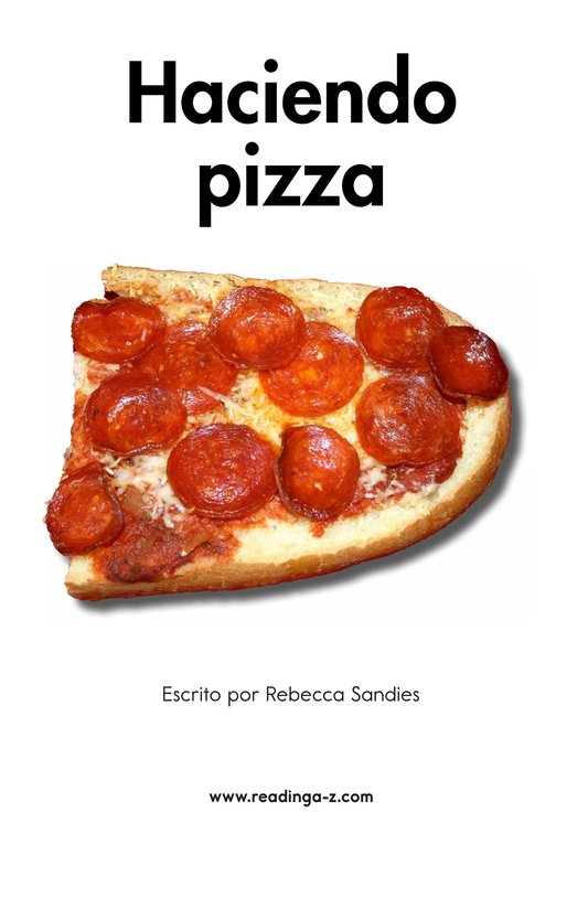 Book Preview For Making Pizza Page 2
