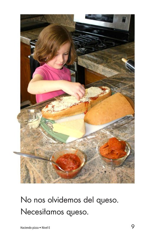 Book Preview For Making Pizza Page 9