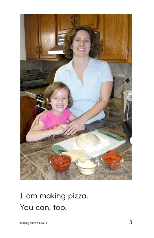 Book Preview For Making Pizza Page 3