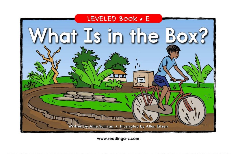 Book Preview For What Is in the Box? Page 1
