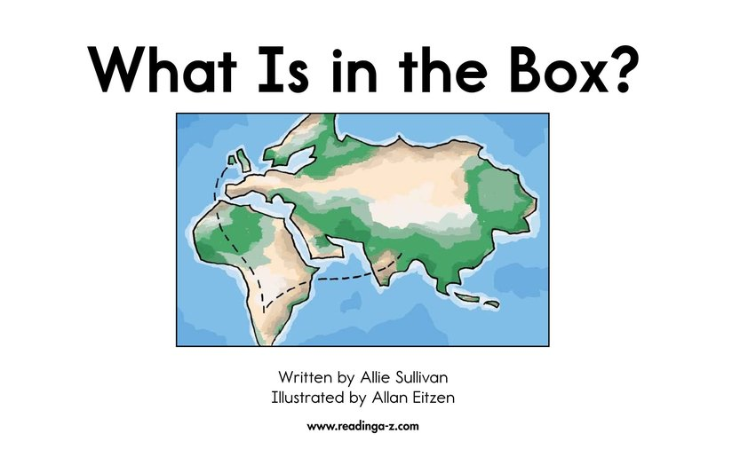 Book Preview For What Is in the Box? Page 2