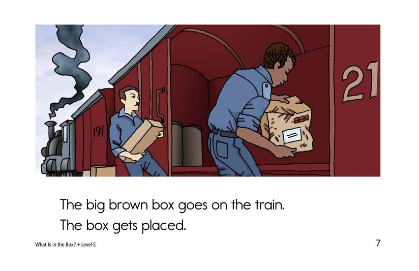Book Preview For What Is in the Box? Page 7