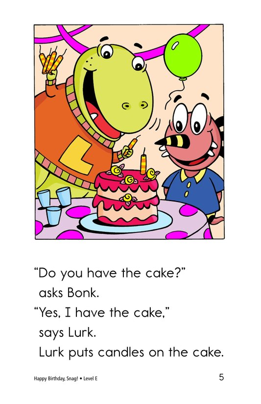 Book Preview For Happy Birthday, Snag! Page 5