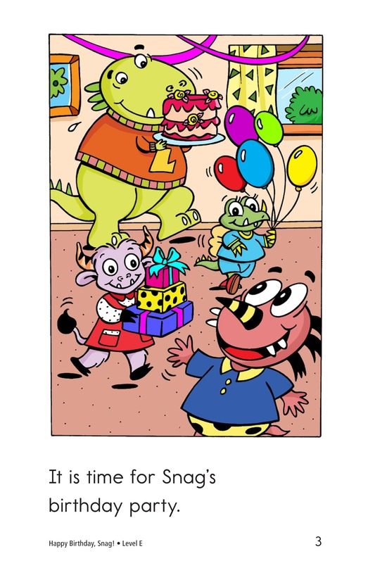 Book Preview For Happy Birthday, Snag! Page 3