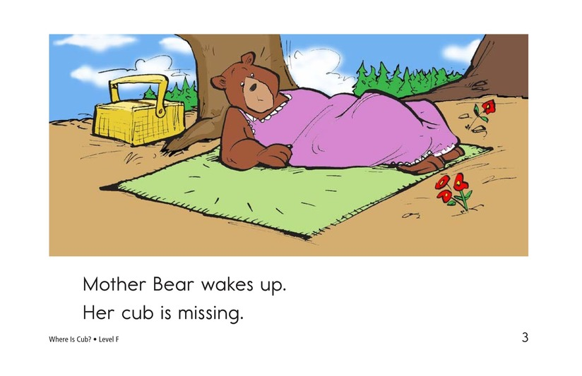 Book Preview For Where Is Cub? Page 3