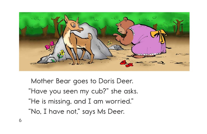 Book Preview For Where Is Cub? Page 6