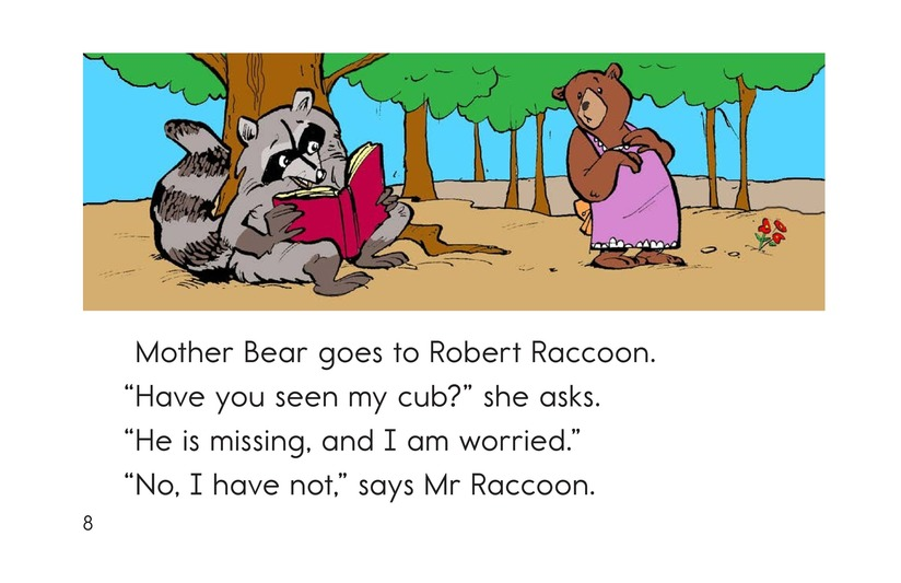 Book Preview For Where Is Cub? Page 8