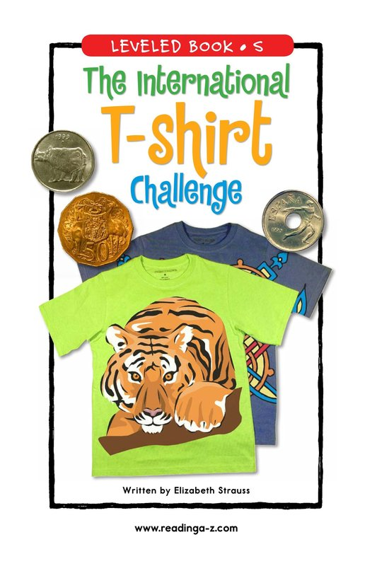 Book Preview For The International T-Shirt Challenge Page 1