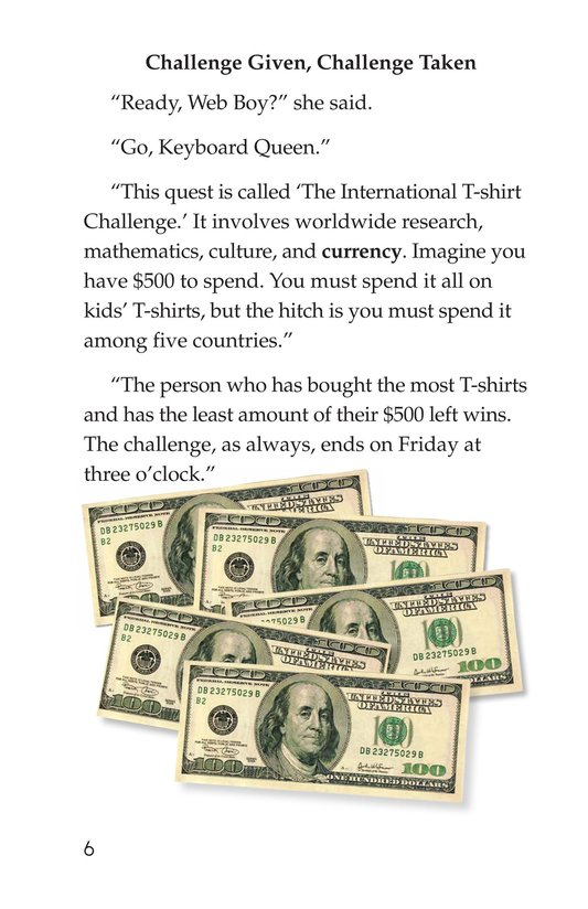 Book Preview For The International T-Shirt Challenge Page 6