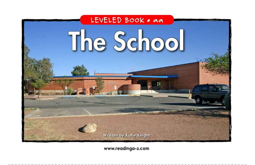 Book Preview For The School Page 1