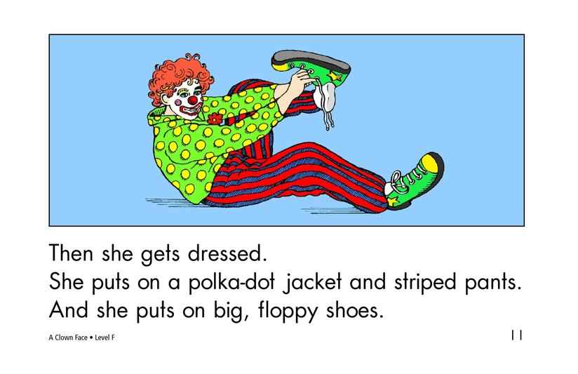 Book Preview For A Clown Face Page 11