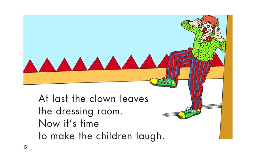 Book Preview For A Clown Face Page 12
