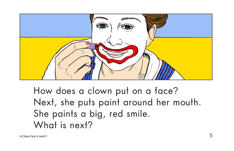 Book Preview For A Clown Face Page 5