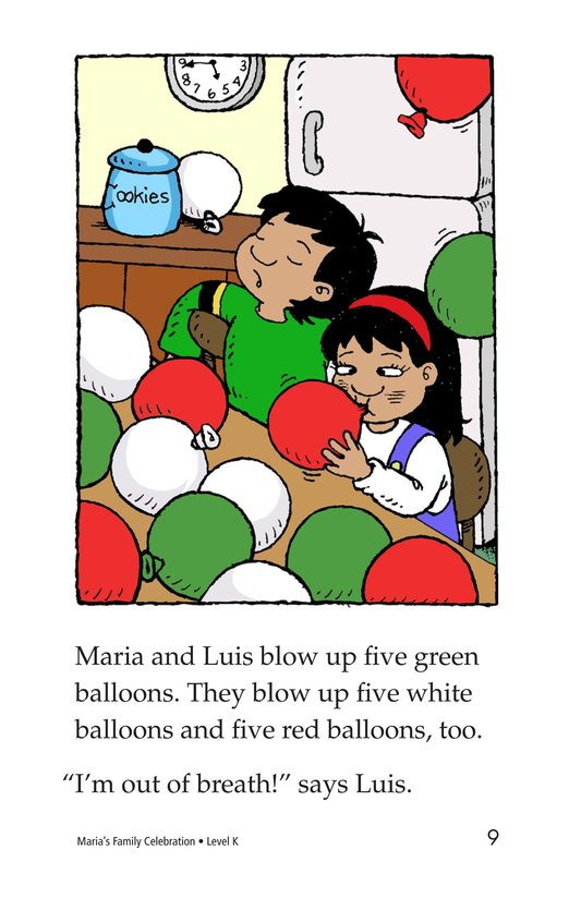 Book Preview For Maria's Family Celebration Page 9