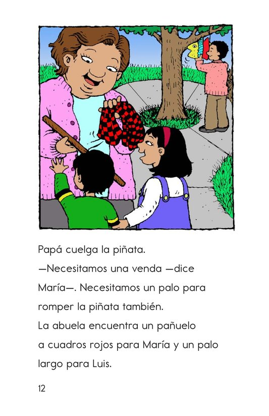 Book Preview For Maria's Family Celebration Page 12
