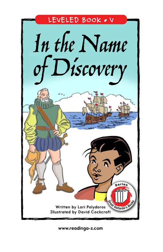 Book Preview For In the Name of Discovery Page 1