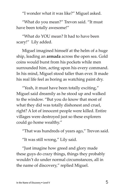 Book Preview For In the Name of Discovery Page 5