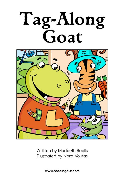 Book Preview For Tag-Along Goat Page 2