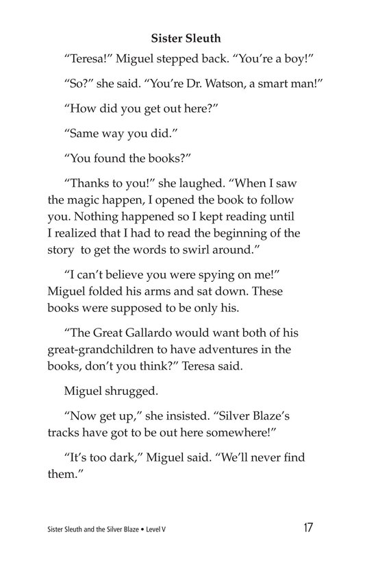 Book Preview For Sister Sleuth and the Silver Blaze Page 17