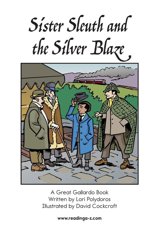 Book Preview For Sister Sleuth and the Silver Blaze Page 2