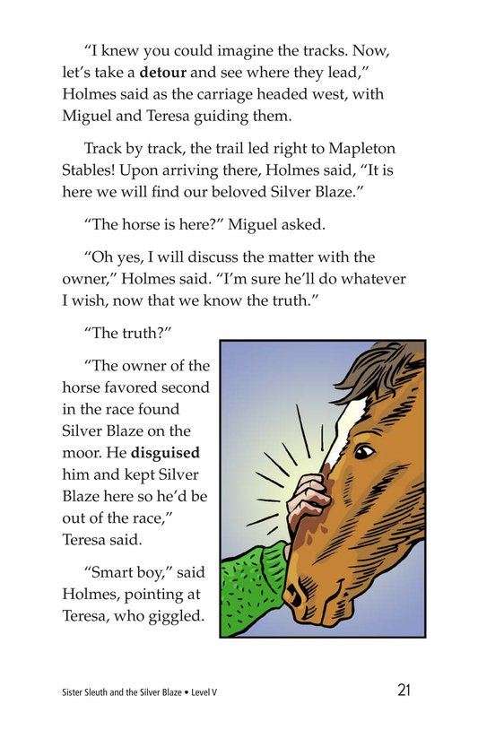 Book Preview For Sister Sleuth and the Silver Blaze Page 21