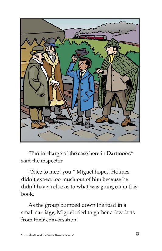 Book Preview For Sister Sleuth and the Silver Blaze Page 9