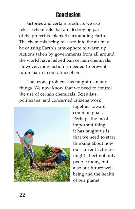 Book Preview For Threats to Our Atmosphere Page 22