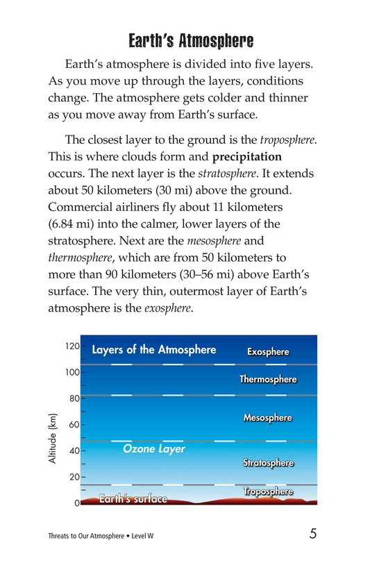 Book Preview For Threats to Our Atmosphere Page 5