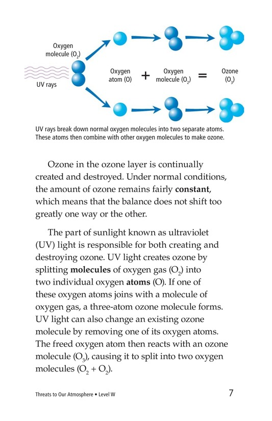 Book Preview For Threats to Our Atmosphere Page 7