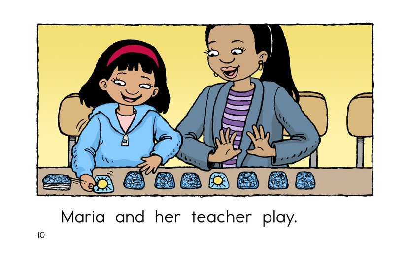 Book Preview For Maria and Her Teacher Page 10