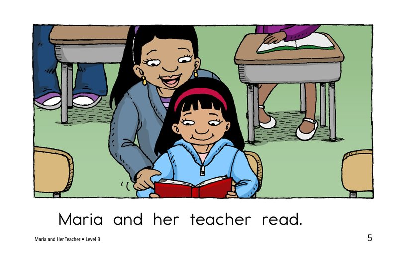 Book Preview For Maria and Her Teacher Page 5