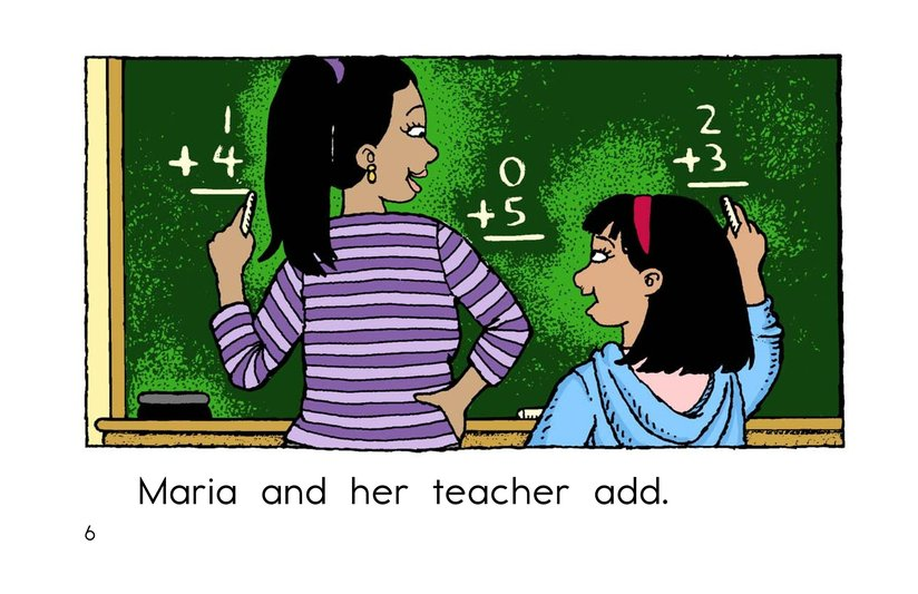 Book Preview For Maria and Her Teacher Page 6