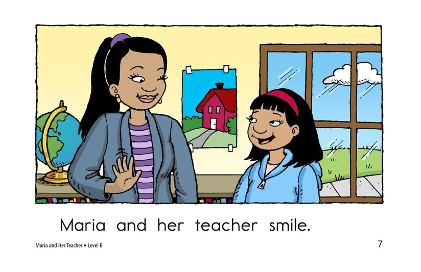 Book Preview For Maria and Her Teacher Page 7