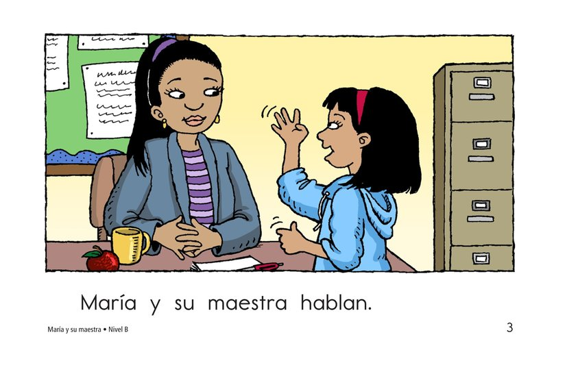 Book Preview For Maria and Her Teacher Page 3