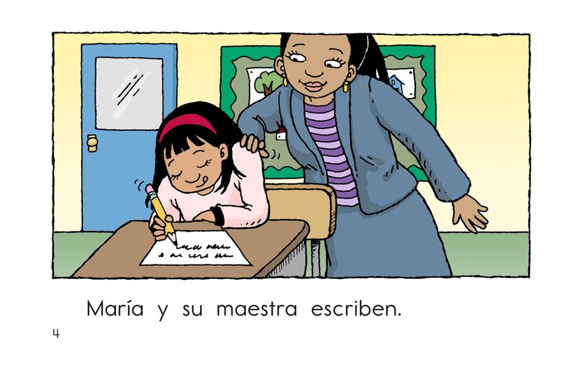 Book Preview For Maria and Her Teacher Page 4