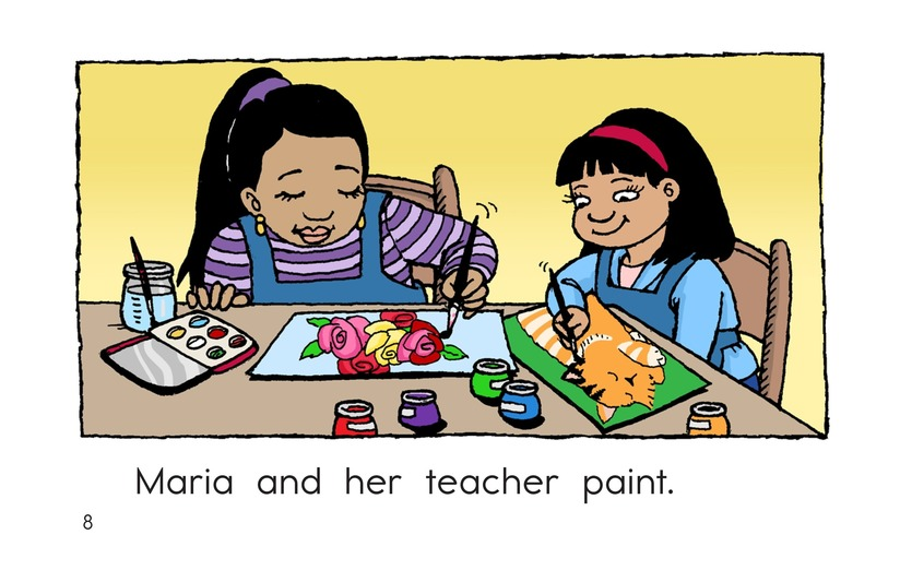 Book Preview For Maria and Her Teacher Page 8