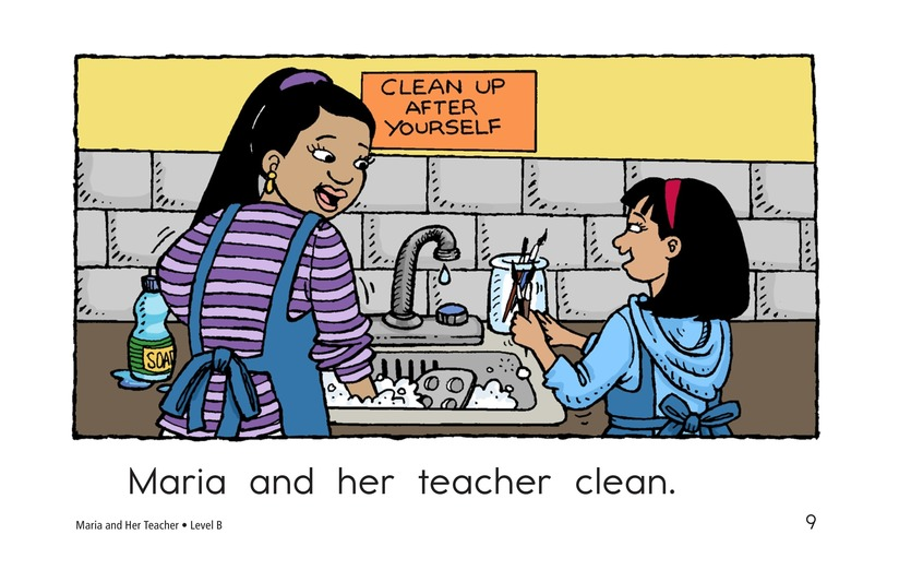 Book Preview For Maria and Her Teacher Page 9