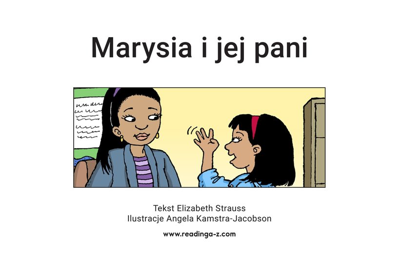 Book Preview For Maria and Her Teacher Page 2