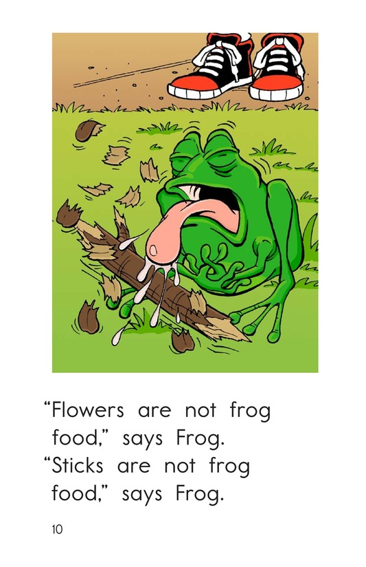 Book Preview For Frog Is Hungry Page 10