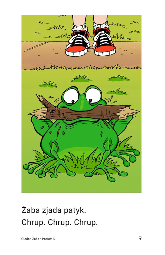 Book Preview For Frog Is Hungry Page 9