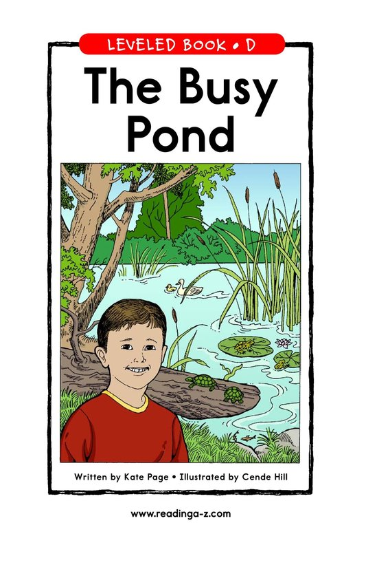 Book Preview For The Busy Pond Page 1