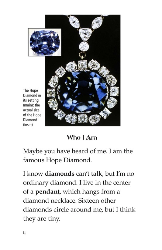 Book Preview For I Am the Hope Diamond Page 4