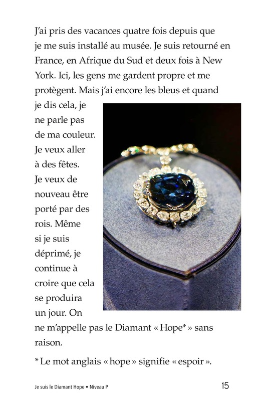 Book Preview For I Am the Hope Diamond Page 15