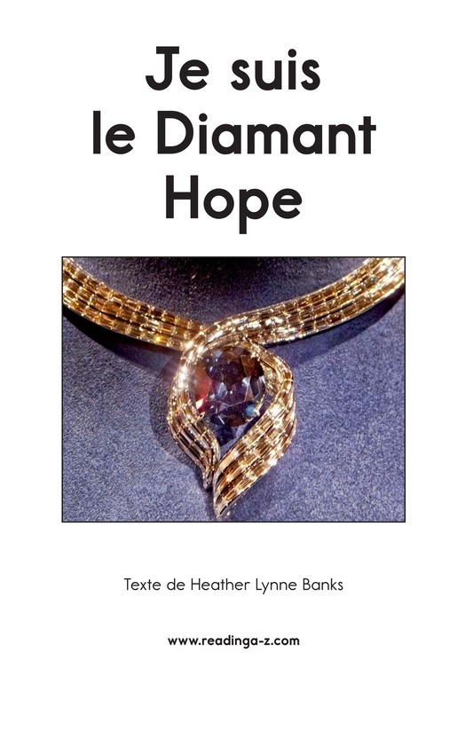 Book Preview For I Am the Hope Diamond Page 2