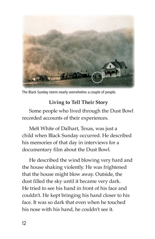 Book Preview For Dust Bowl Disaster Page 12