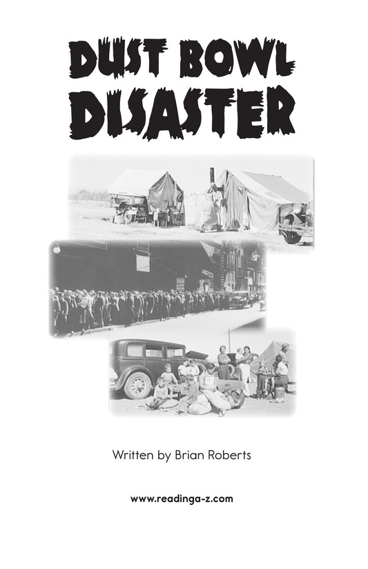 Book Preview For Dust Bowl Disaster Page 2