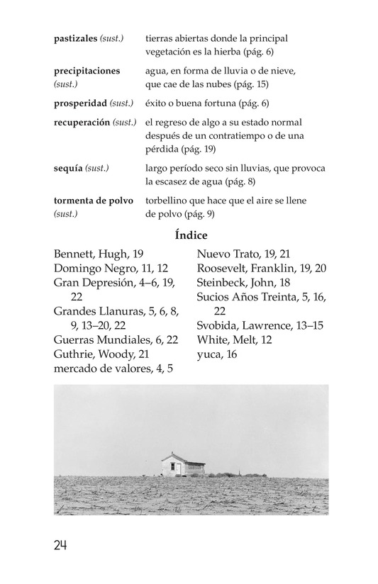 Book Preview For Dust Bowl Disaster Page 24